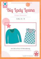 Big Lady Leana, Plus-Size-Damenshirt, Papierschnittmuster