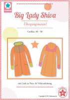Big Lady Shiva, Plus-Size-Mantel, Schnittmuster