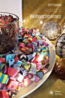 DIY Freebie Webband Adventskranz