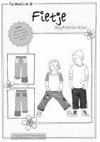 FIETJE, Boyfriend-Hose, Papierschnittmuster