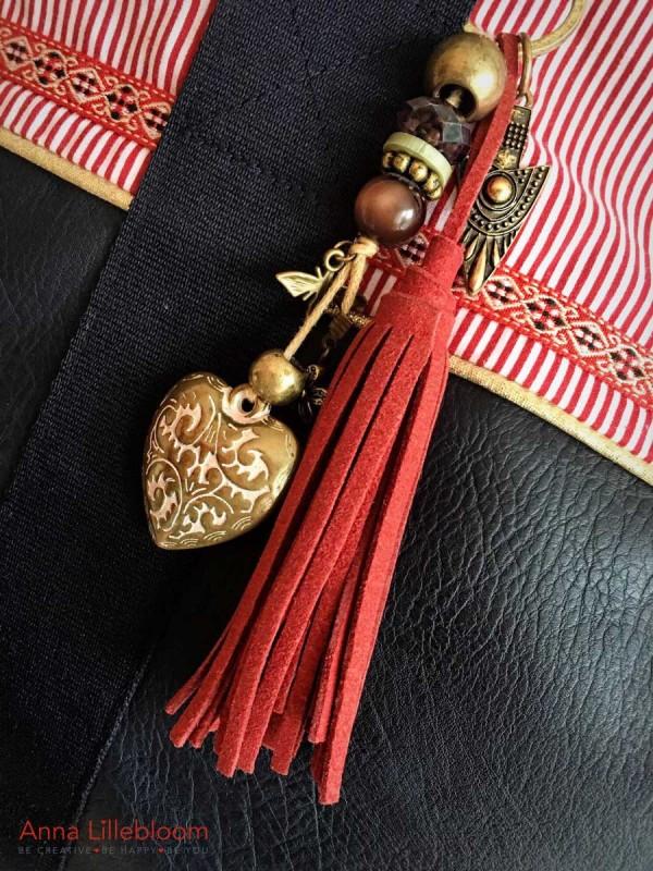Detailansicht Trachtentasche