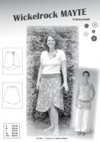 MAYTE, Damen-Wickelrock, Papierschnittmuster