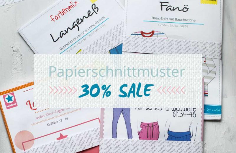 Papierschnittmuster Sale