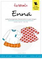 ENNA, Shirt in Glockenform, Papierschnittmuster