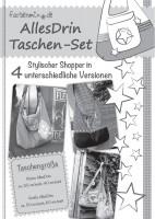 AllesDrin-Taschen-Set, Papierschnittmuster