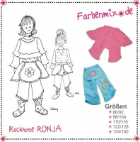 RONJA, Rockhose, Schnittmuster