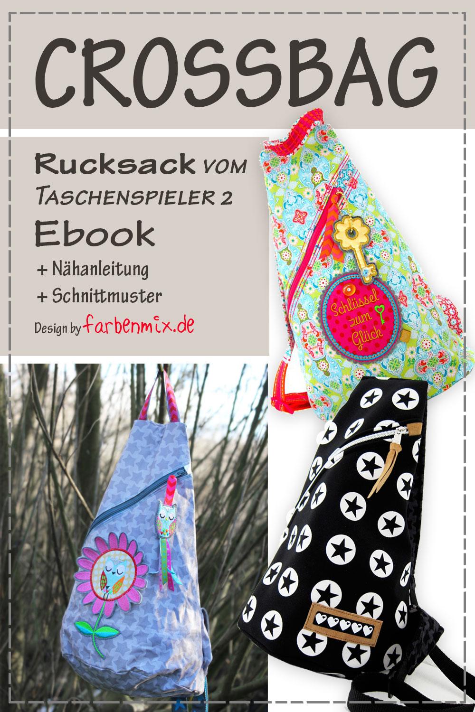 Crossbag Rucksack Ebook | farbenmix