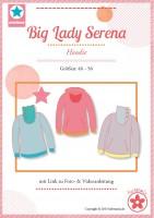 Big Lady Serena, Damenhoodie, Schnittmuster