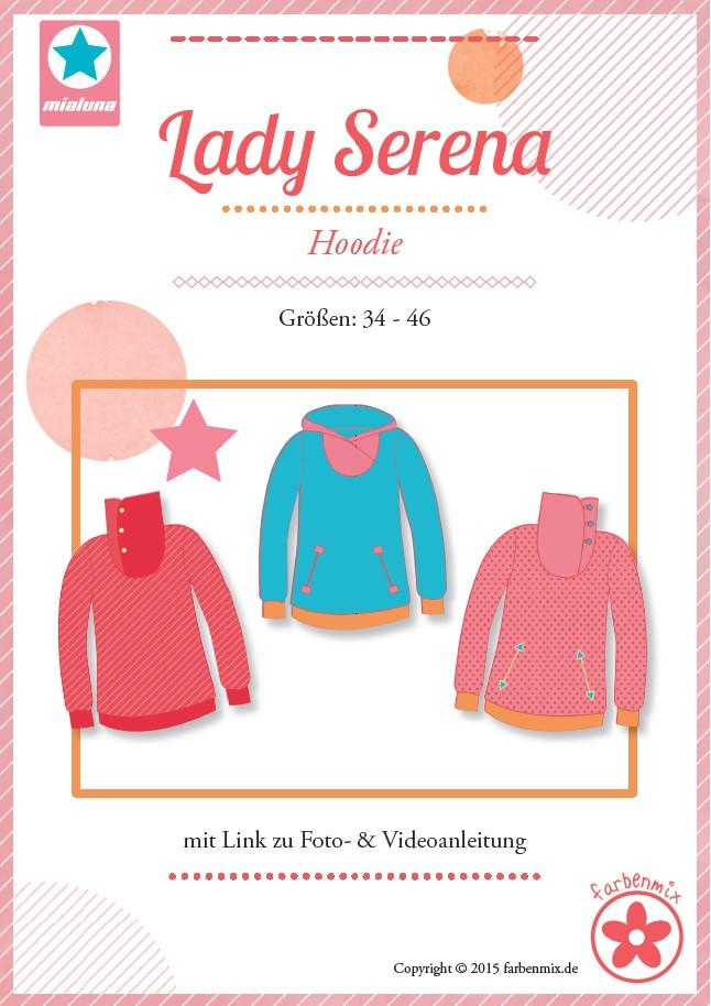 Lady Serena, Papierschnittmuster | Damenschnitte | Schnittmuster ...