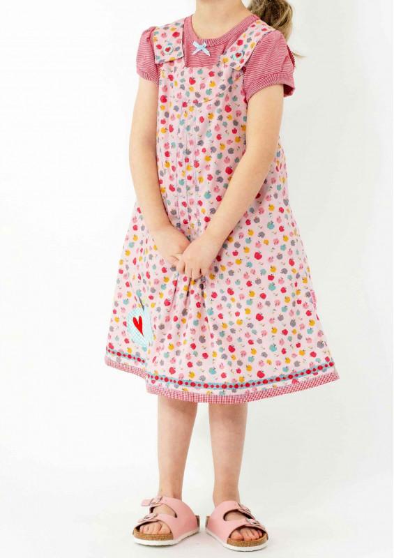 Schnittmuster Kinderkleid Oda in 2 Weiten