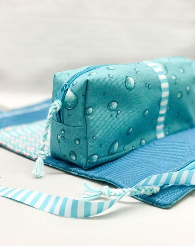 Outdoor Waschtasche Taschenschnitt