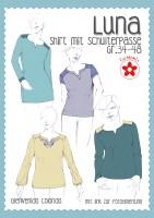 Luna, Damen-Passenshirt, Schnittmuster