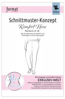 Komfort-Hose, Schnittmuster-Konzept