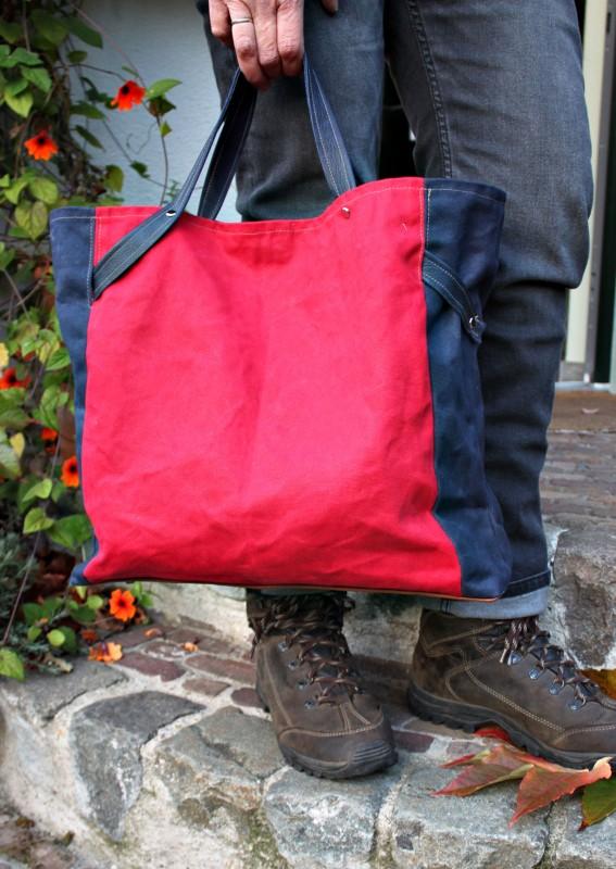 Taschenschnittmuster CarryBag Taschenspieler farbenmix
