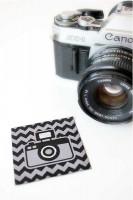 Aufnäher Kamera Fotoapparat