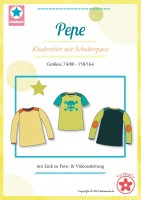 Pepe, Kindershirt, Papierschnittmuster
