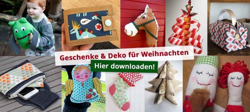 Nähideen Weihnachtsdeko und Geschenke