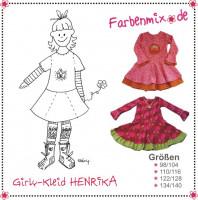 Henrika, Girly-Kleid, Schnittmuster