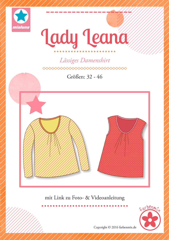 miaLuna Lady Leana Damenshirt | farbenmix