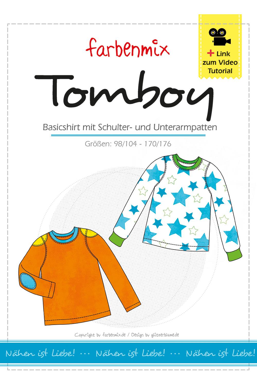 Tomboy Shirt Schnittmuster | farbenmix