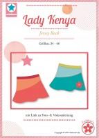 Lady Kenya, Papierschnittmuster