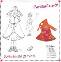 OLIVIA, Doppelkleid, Papierschnittmuster