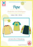 Pepe, Kindershirt, Schnittmuster