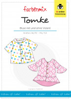 TOMKE, Kinderbluse, Schnittmuster