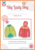 Big Lady Sky, Sweatjacke, Schnittmuster