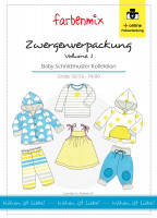 Zwergenverpackung Vol. 1, Baby Schnittmuster Set
