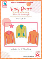 Lady Grace, Sweatblazer, Schnittmuster