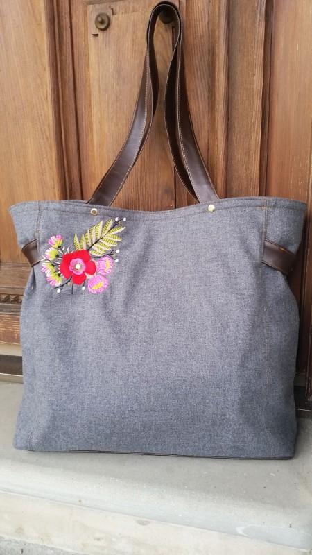 Einkaufstasche Taschenschnitt Farbenmix