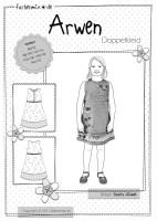 ARWEN, Kleid, Papierschnittmuster