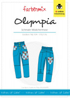 OLYMPIA, Schmale Kinderhose, Schnittmuster